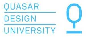 Logo Completo Quasar Blu